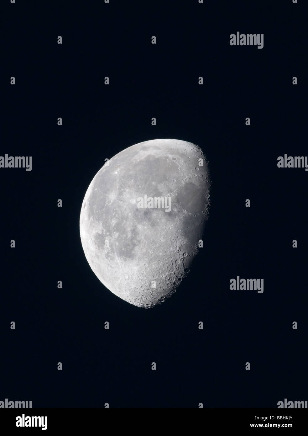 Der Mond Stockbild