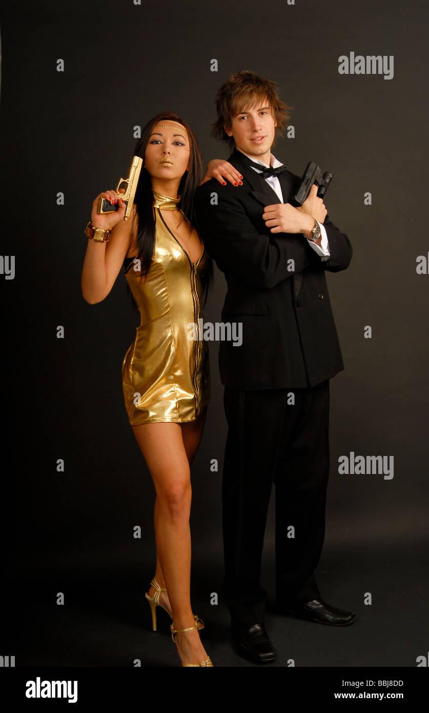 100% original heiße neue Produkte Gute Preise James Bond Kostüme Stockfoto, Bild: 24373369 - Alamy