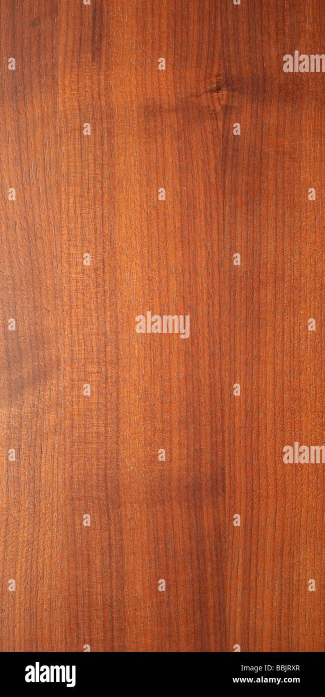 Maserung des Holzes hautnah Stockbild