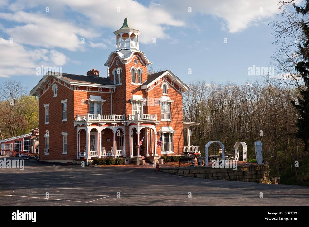 Historische Stillman Inn In Historischen Galena Illinois Jetzt Ein