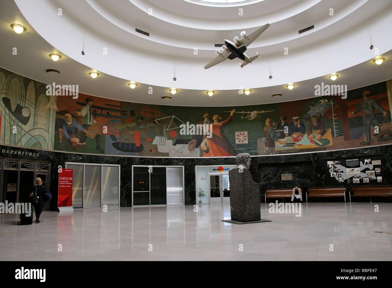 Marine Air Terminal eine Art-déco-historisches Gebäude von La ...