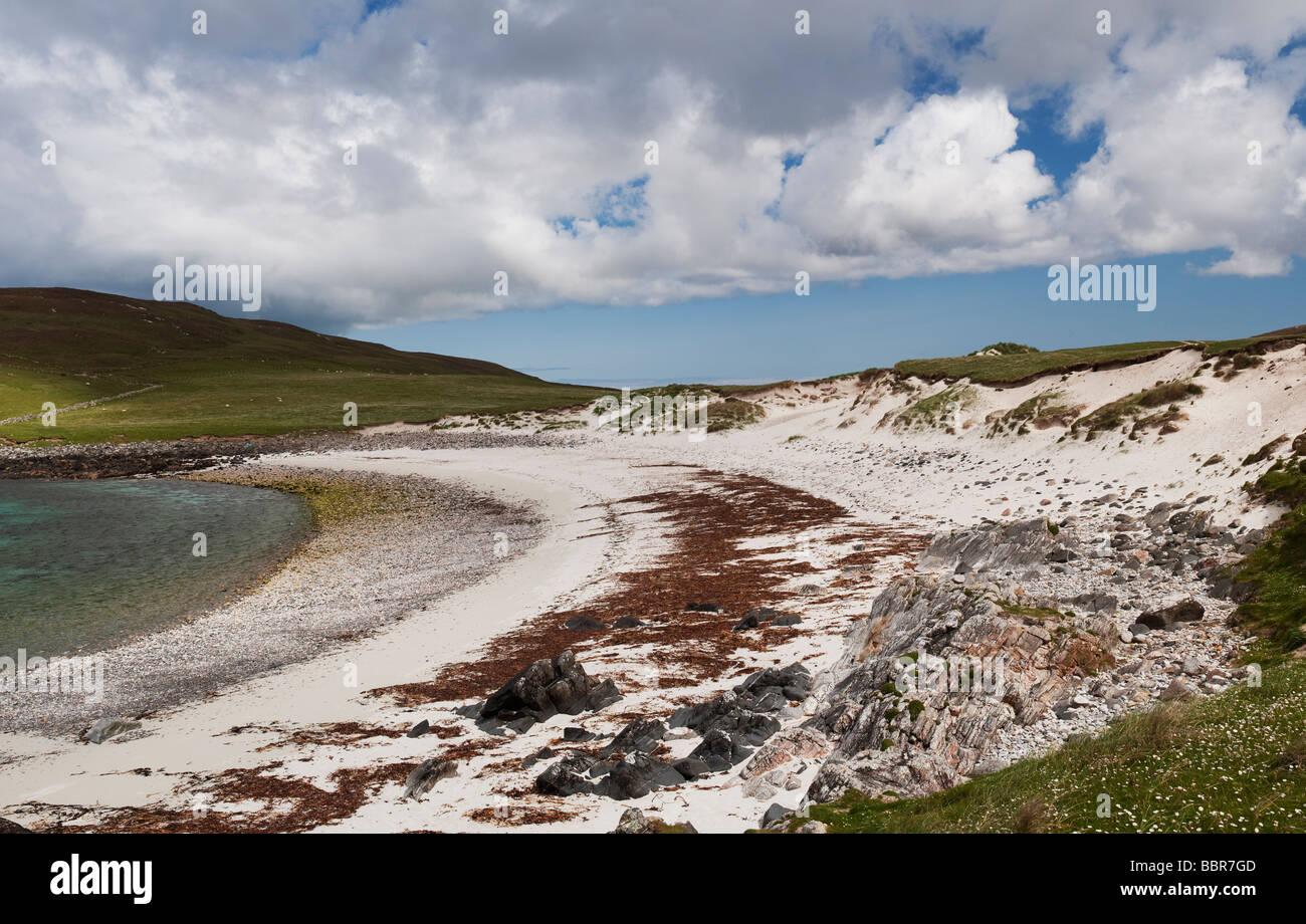 North Uist Strand, äußeren Hebriden, Schottland Stockfoto