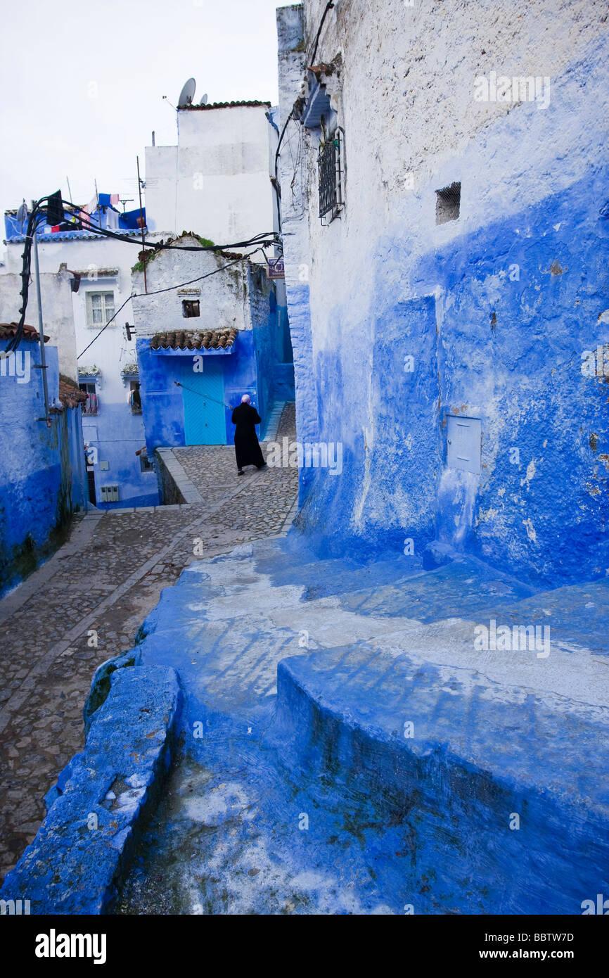 Chefchaouen, Marokko, Nordafrika Stockbild