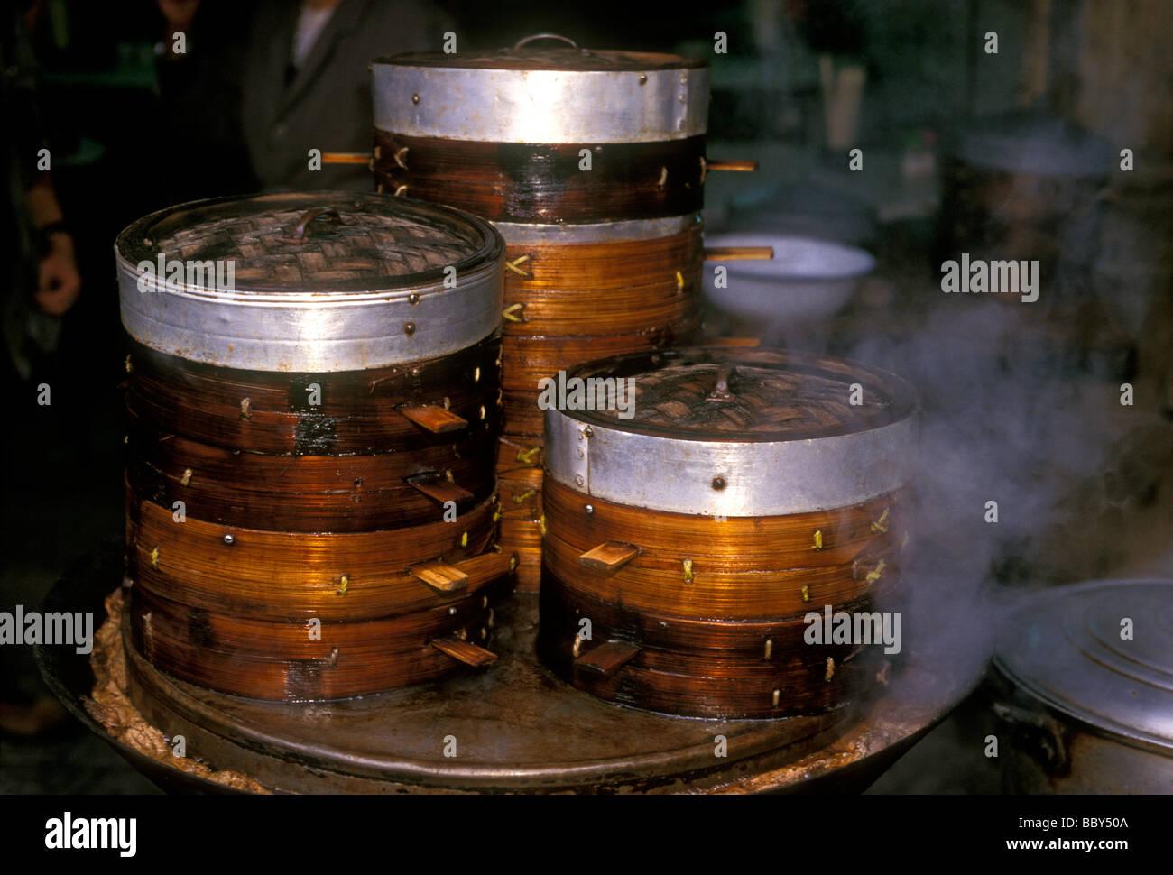 Bambus Bambus Steamer Dampfgarer Steamered Essen Essen Hersteller
