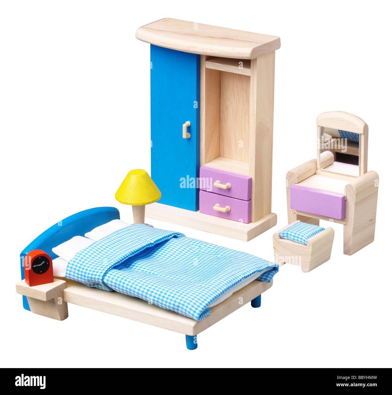 Puppen Haus Möbel Stockbild