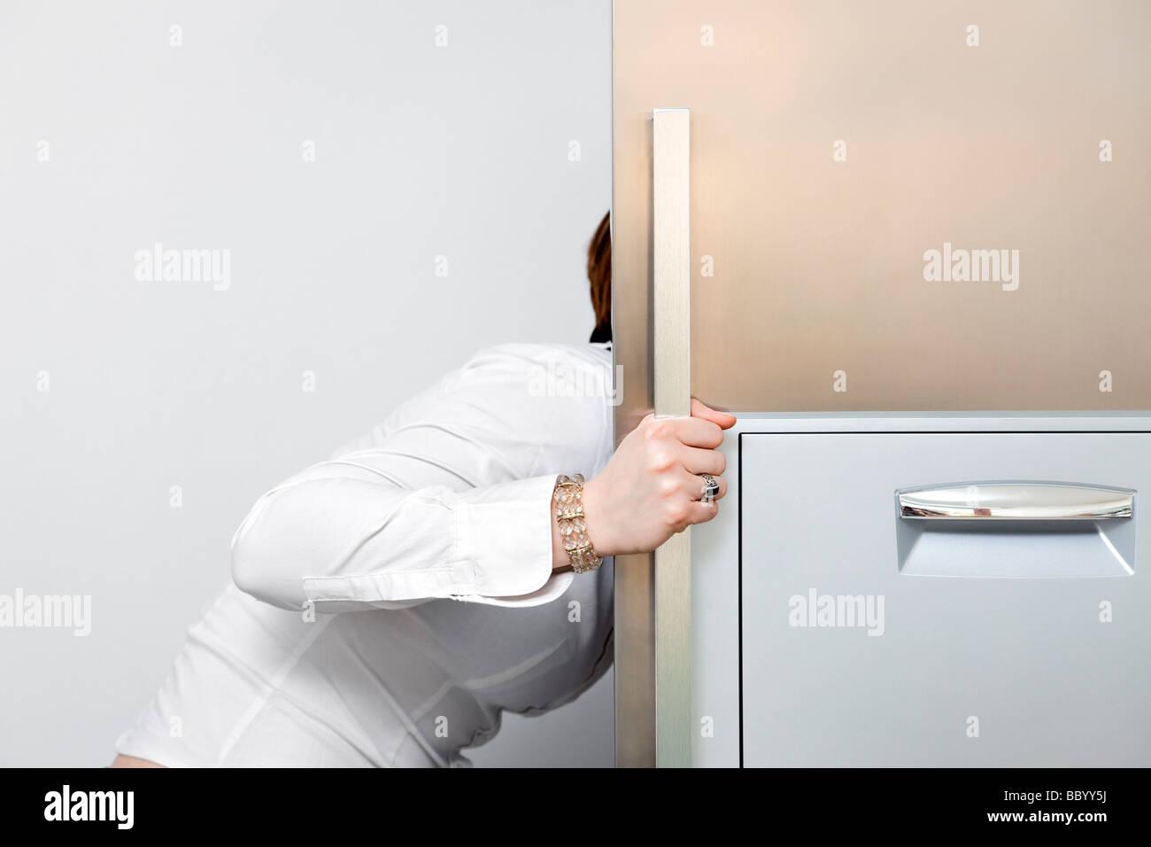 Retro Kühlschrank Yoga : Der kühlschrank stockfotos & der kühlschrank bilder alamy