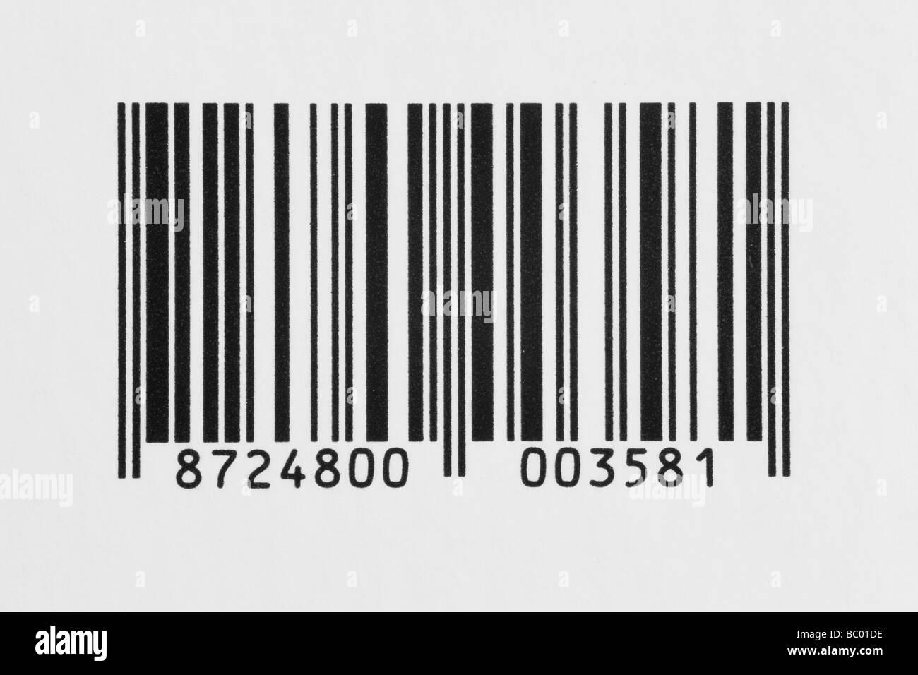 makro detail der strichcode etiketten auf wei em hintergrund stockfoto bild 24587402 alamy. Black Bedroom Furniture Sets. Home Design Ideas