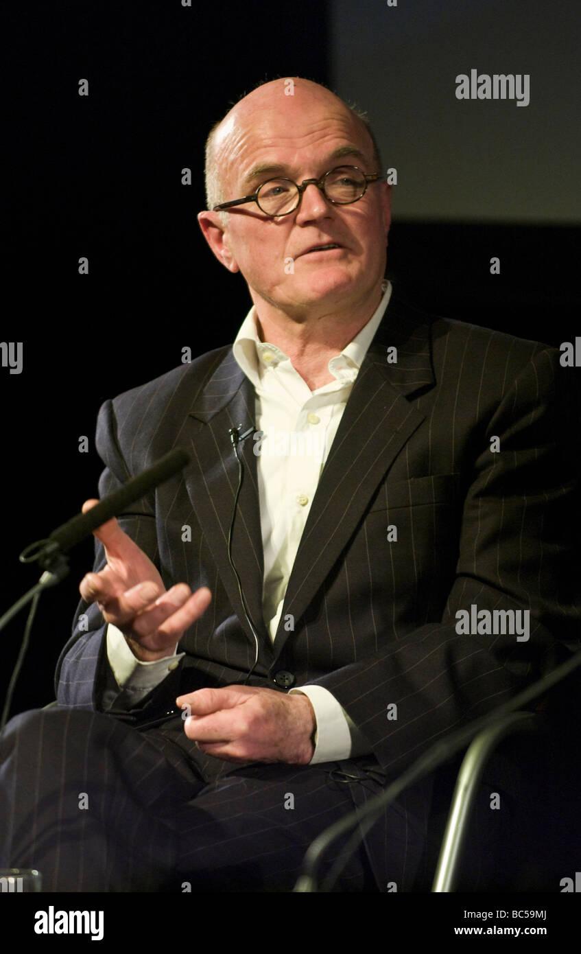 Drehbuchautorin und Fernsehproduzentin GF Newman abgebildet Hay Festival 2009 Stockbild