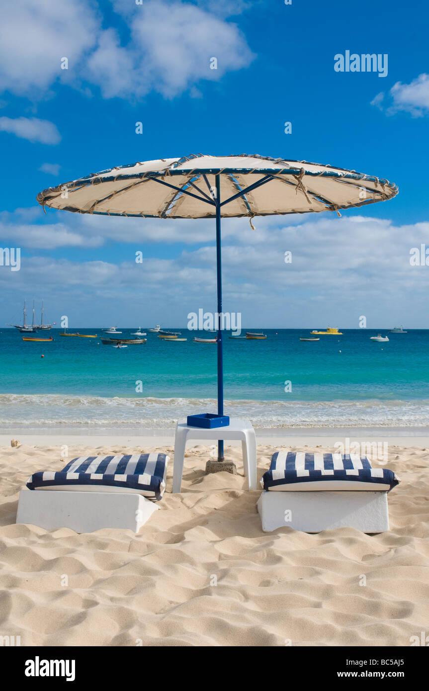 Cape Verde Sal Santa Maria Beach Stockfotos & Cape Verde Sal Santa ...