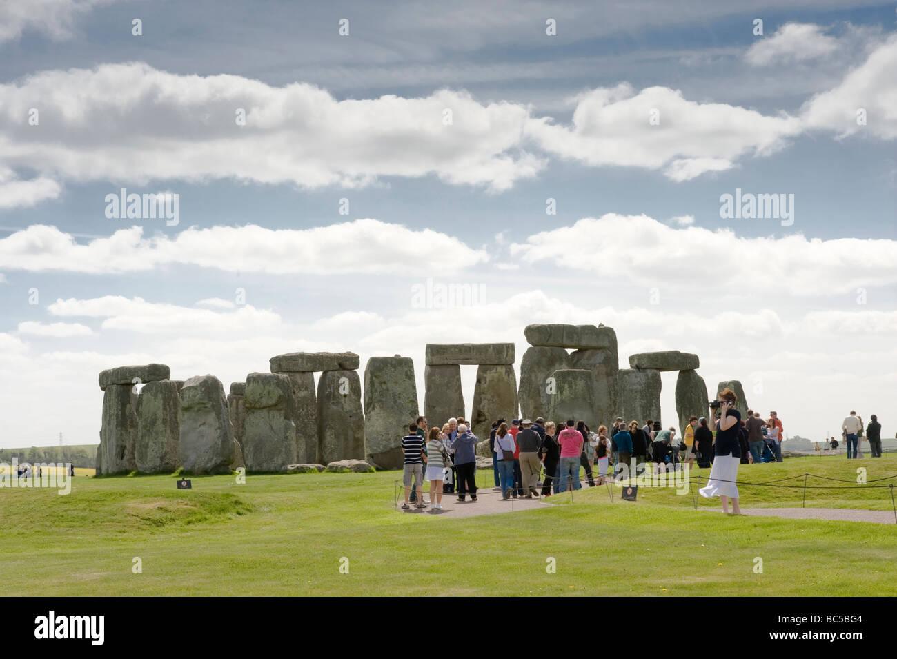 Stenehenge England Stockbild