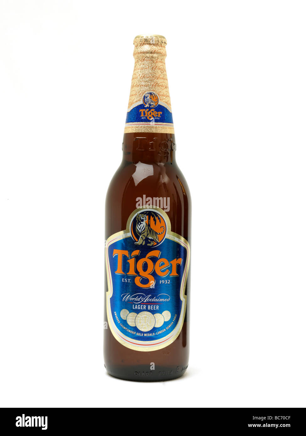 tiger bottle stockfotos tiger bottle bilder alamy. Black Bedroom Furniture Sets. Home Design Ideas