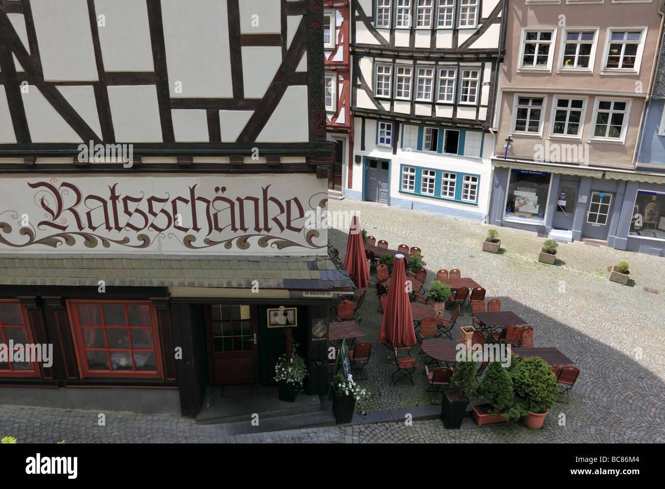 Wetzlar s historische Altstadt Deutschland Stockfoto, Bild: 24767124 ...