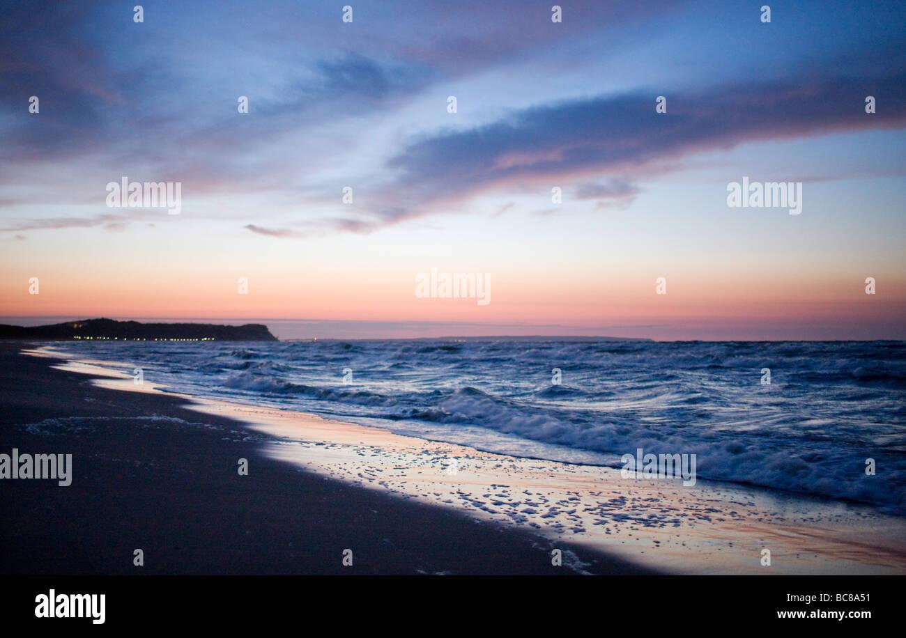 Raummotive bin Strand von Göhren Auf der Insel Ruegen Stockbild