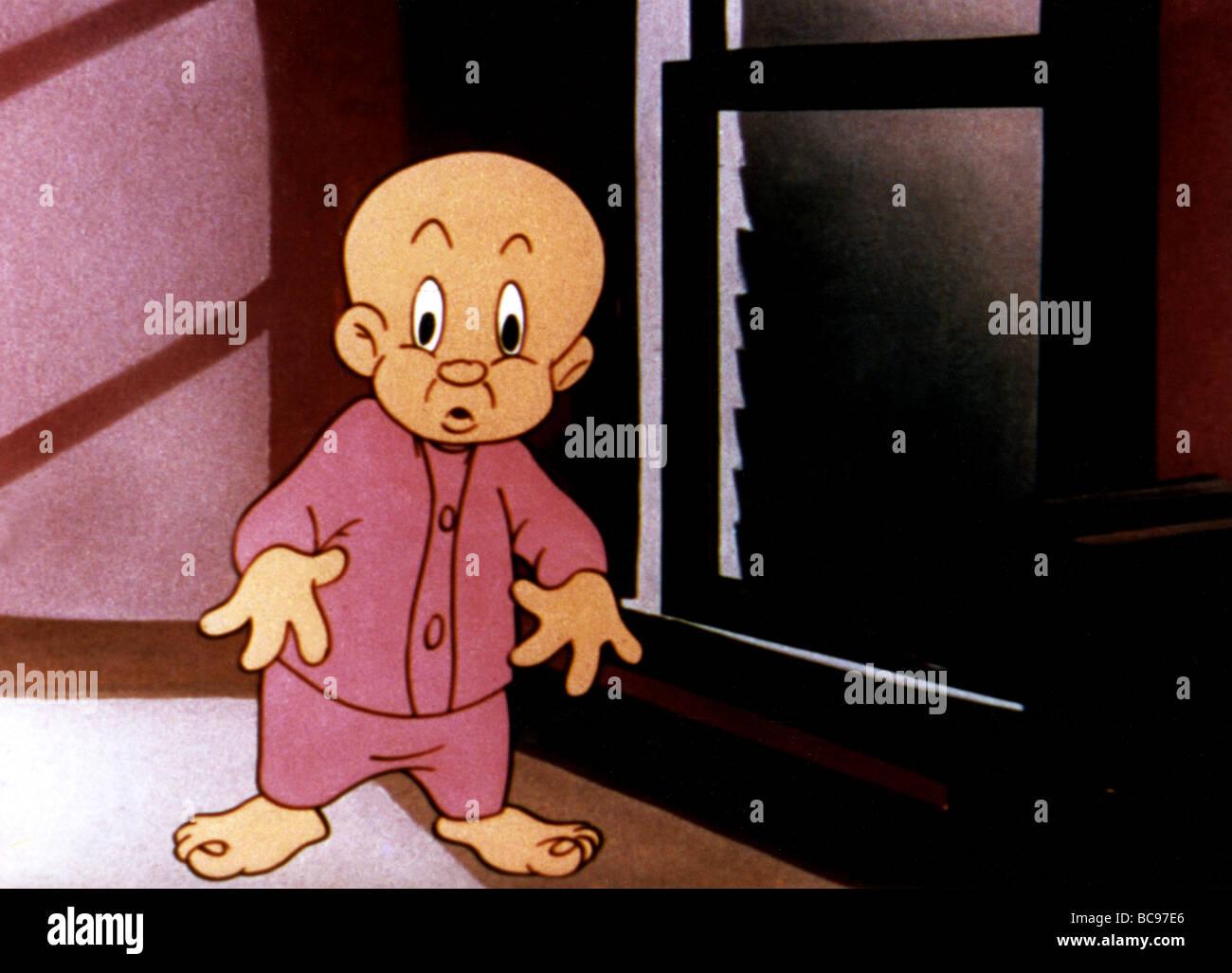 ELMER FUDD - Warner Bros cartoon Charakter Stockbild