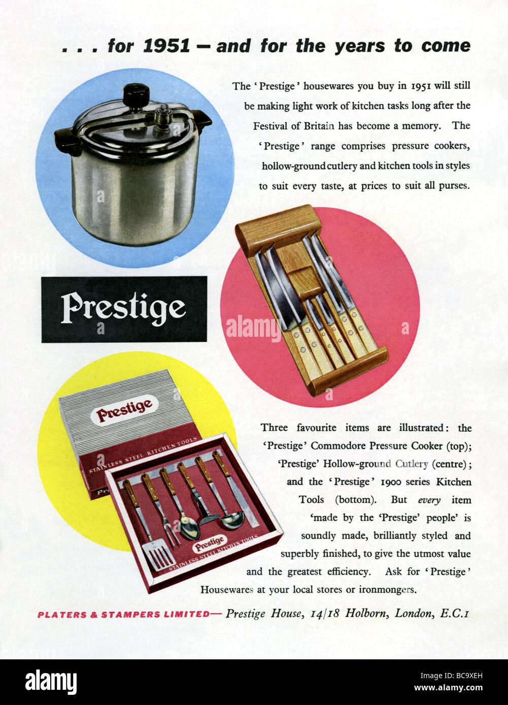 Advert 1950\'s Stockfotos & Advert 1950\'s Bilder - Alamy