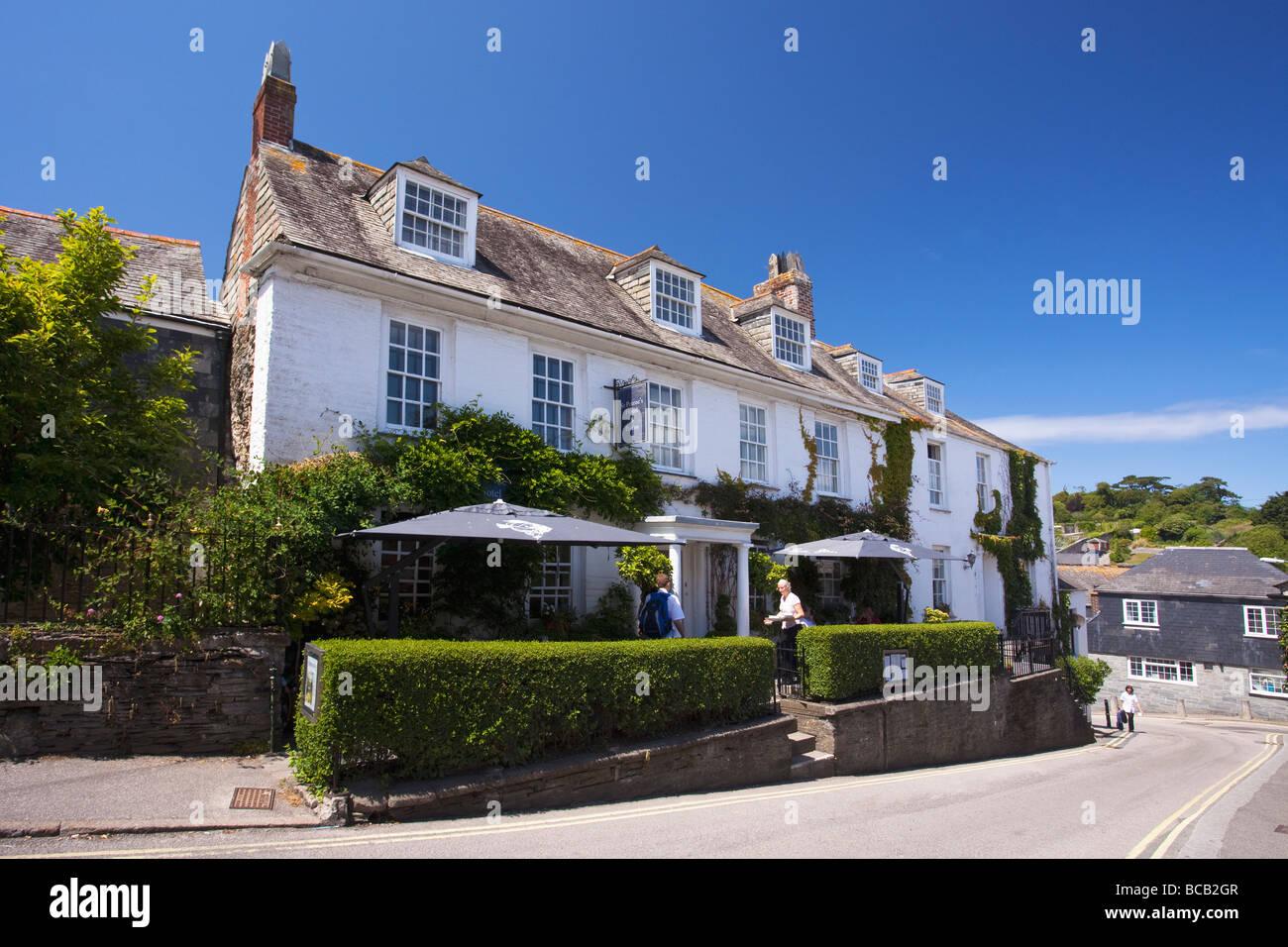 Padstow Rick Stein Stein Steins St. Petroc Petrocs Hotel Bistro im Juni kornischen Riviera Cornwall England UK Großbritannien Stockbild