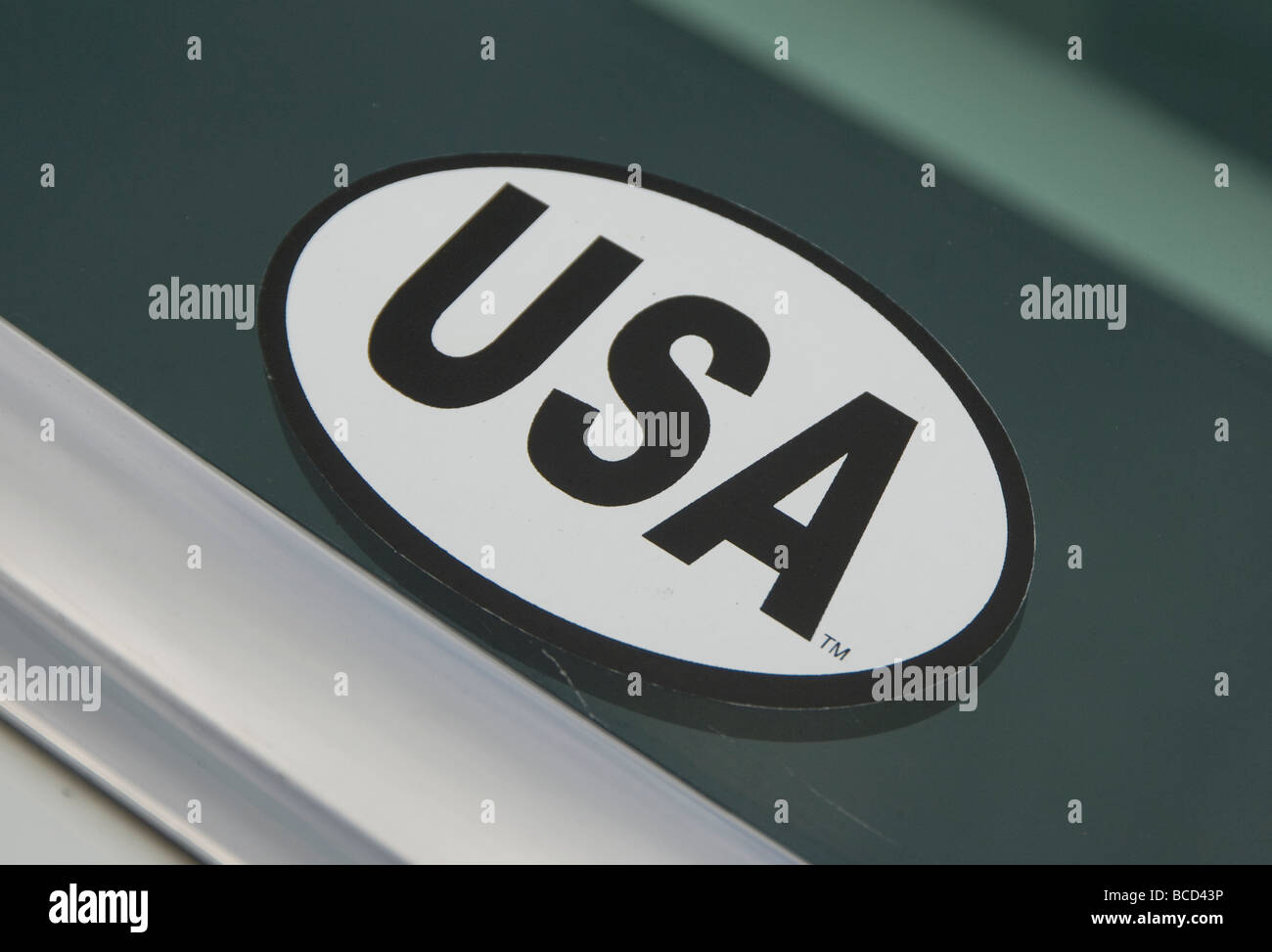 Usa Auto Aufkleber Stockfoto Bild 24874858 Alamy