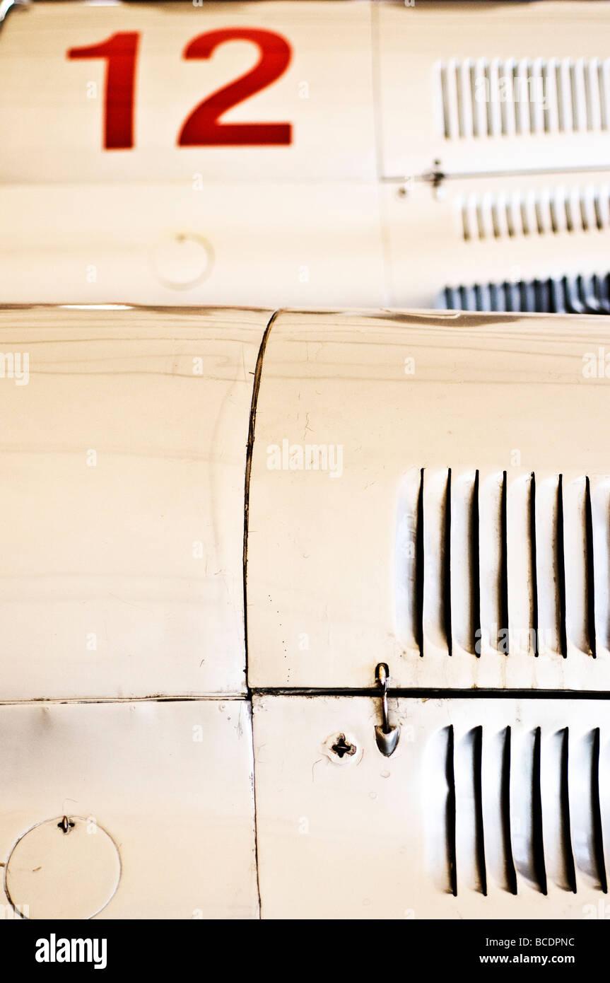 Klassische Rennwagen Stockbild