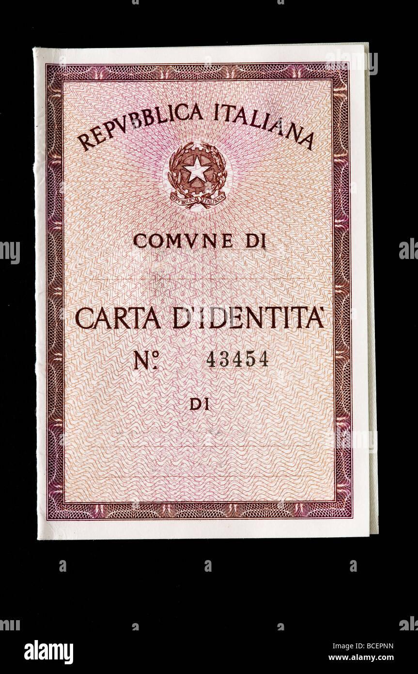 Italienische Identitat Stockfotos Und Bilder Kaufen Alamy