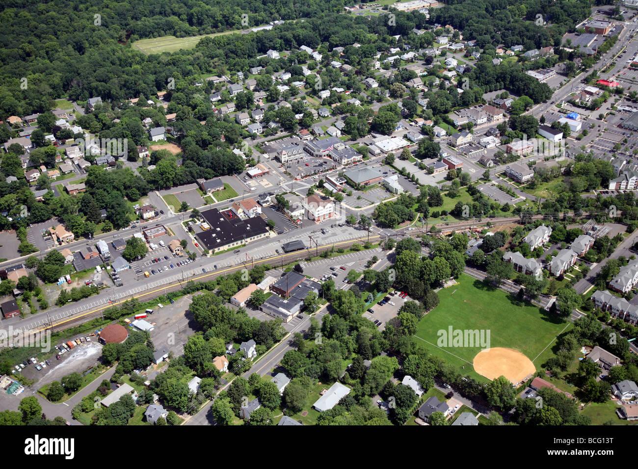 Luftaufnahme von Berkeley Heights, New Jersey. Union County USA Amerika Vereinigte Staaten Stockbild