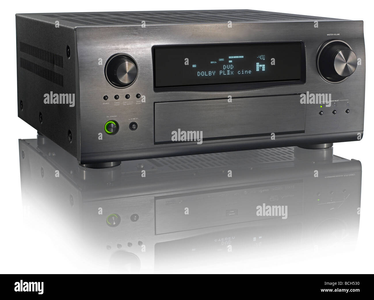 Audio-Receiver Stockbild