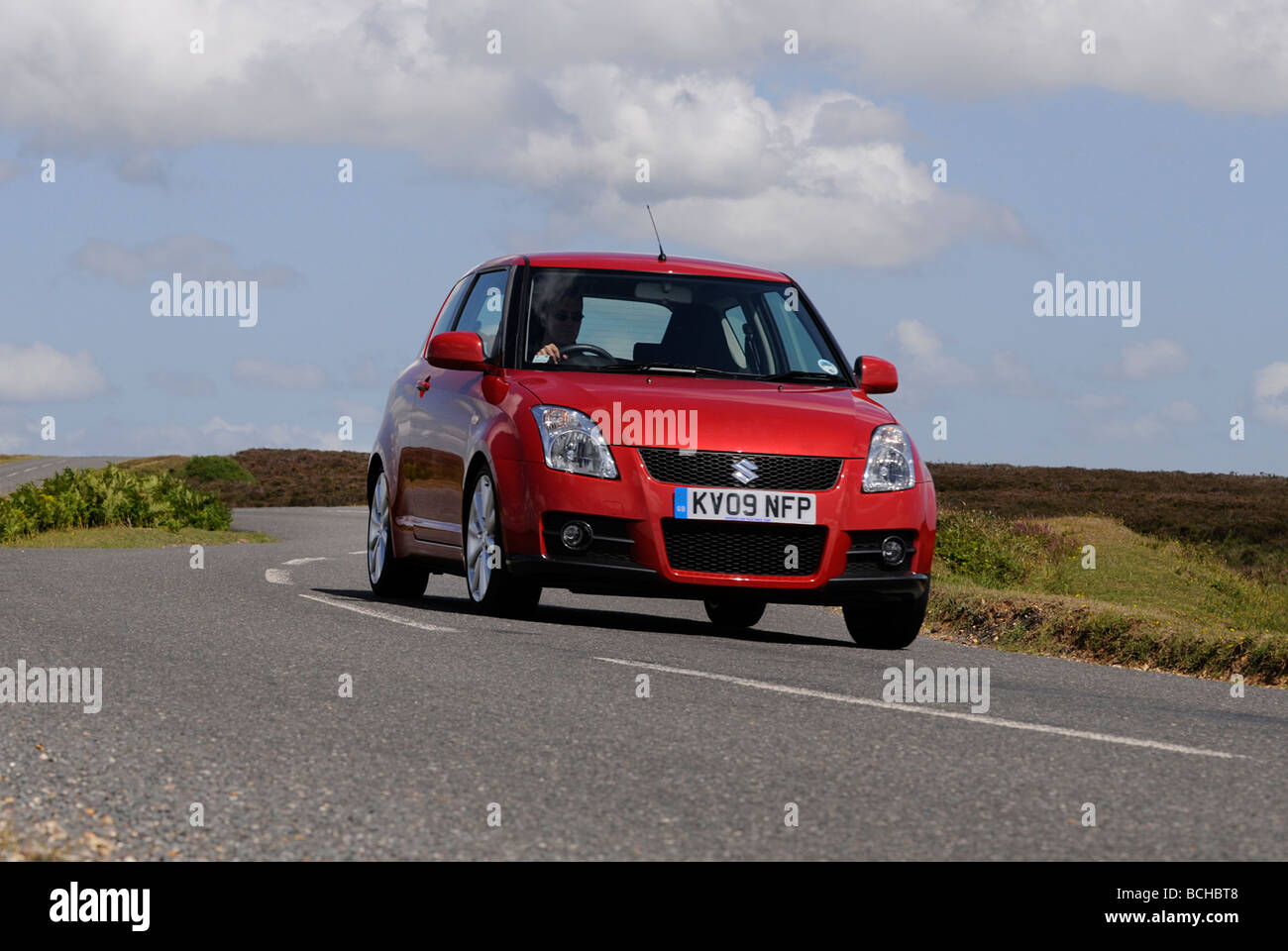Suzuki Swift Sport 2009 Stockbild