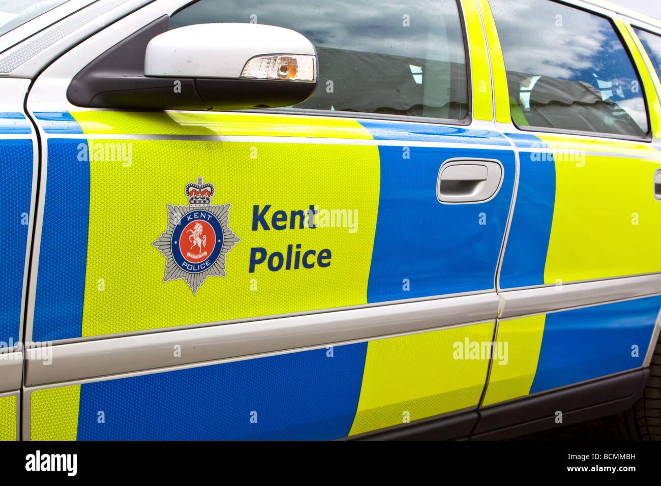 Britisches Polizeiauto Stockfotos Britisches Polizeiauto Bilder