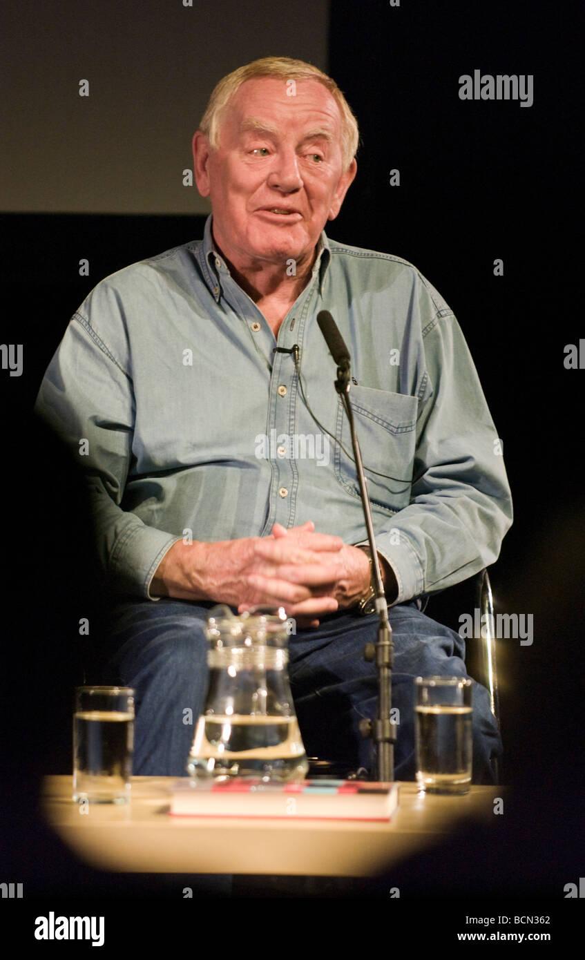 Michael Deeley Flim Produzent abgebildet Hay Festival 2009 Stockbild
