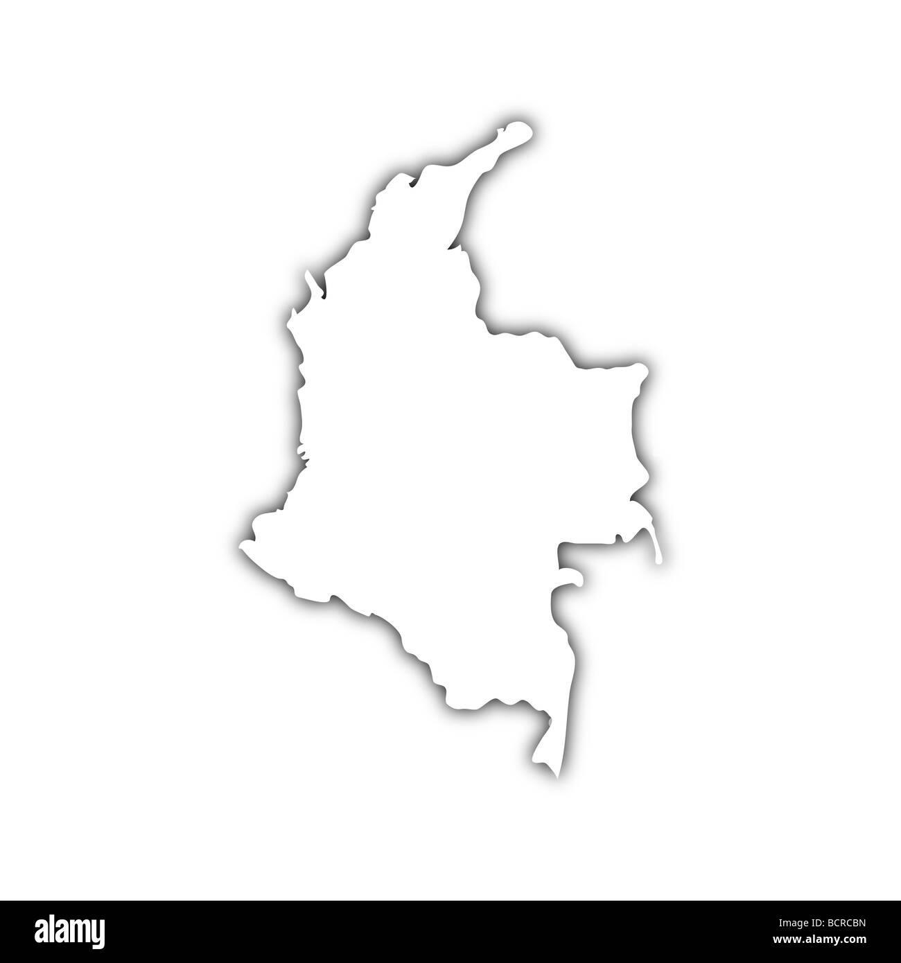 Map Columbia Stockfotos & Map Columbia Bilder - Alamy