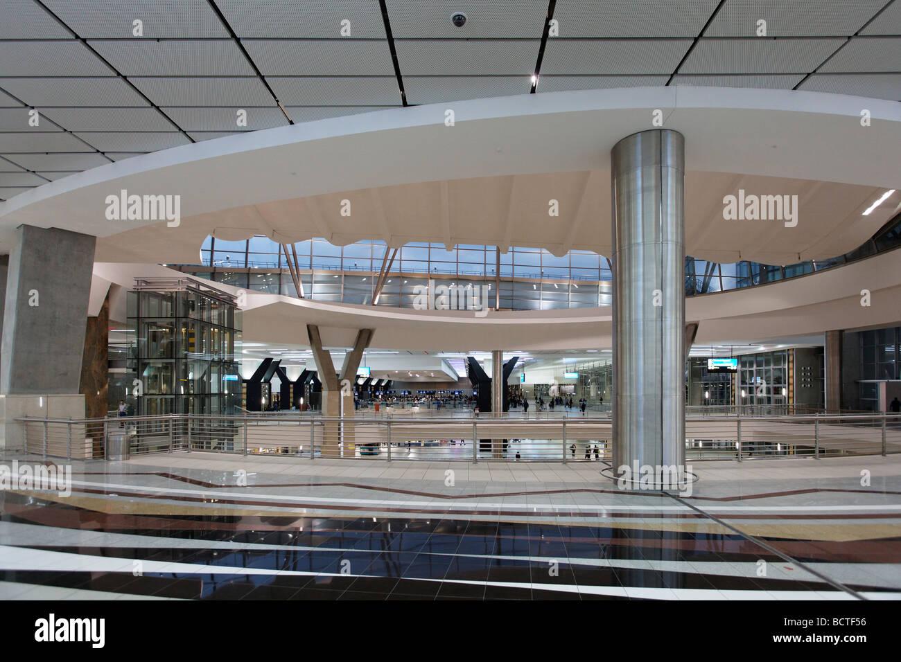 Ankunft Halle, O R Tambo International Airport, Johannesburg, Südafrika, Afrika Stockbild