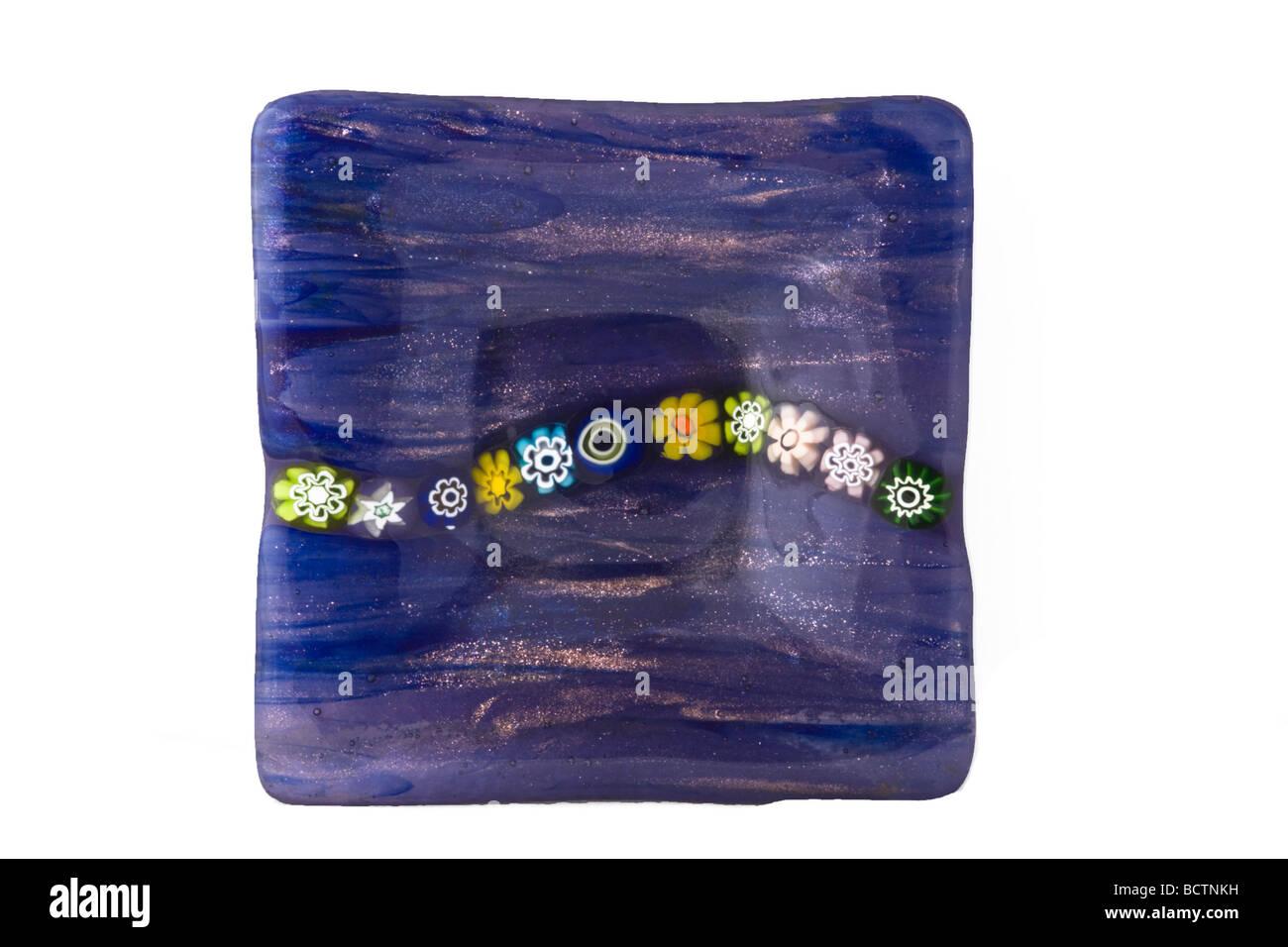 Venezianischen Glaswaren Stockbild