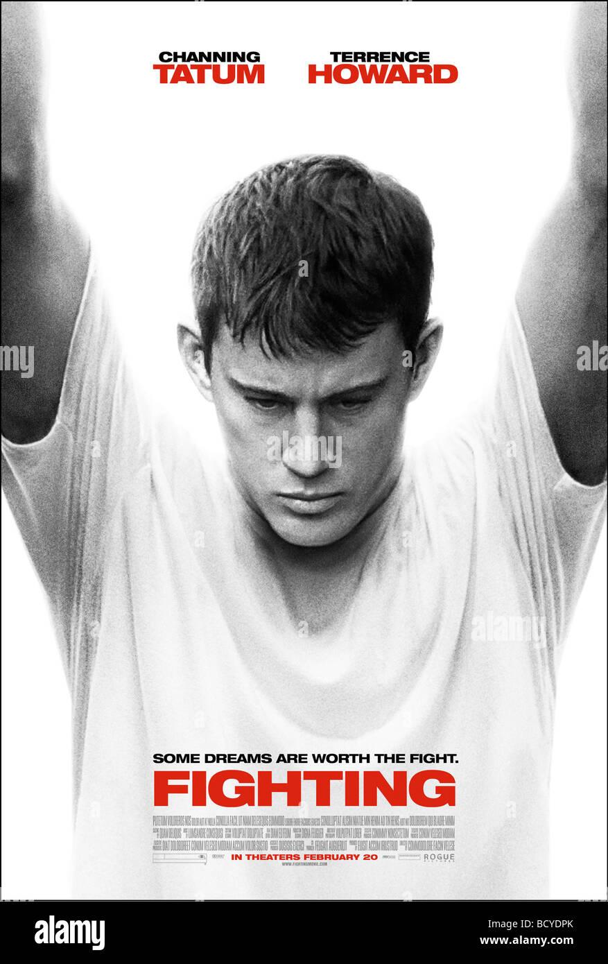 Kampf gegen Jahr: 2009 Direktor: Dito Montiel Channing Tatum Filmplakat (USA) Stockbild