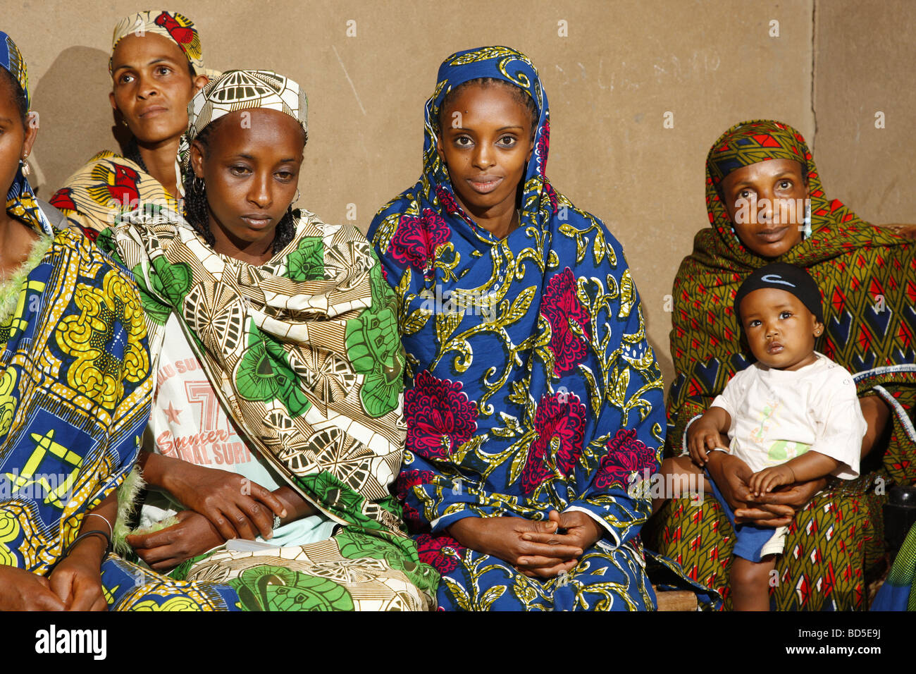 Gruppe von Frauen, Mbororo ethnische Gruppe, Bamenda