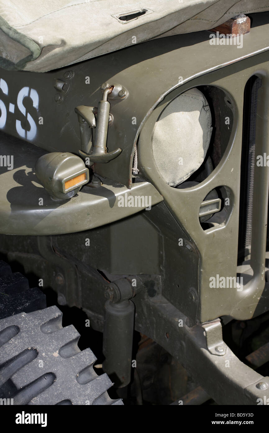 ww2 milit r jeep detail stockfoto bild 25331921 alamy. Black Bedroom Furniture Sets. Home Design Ideas