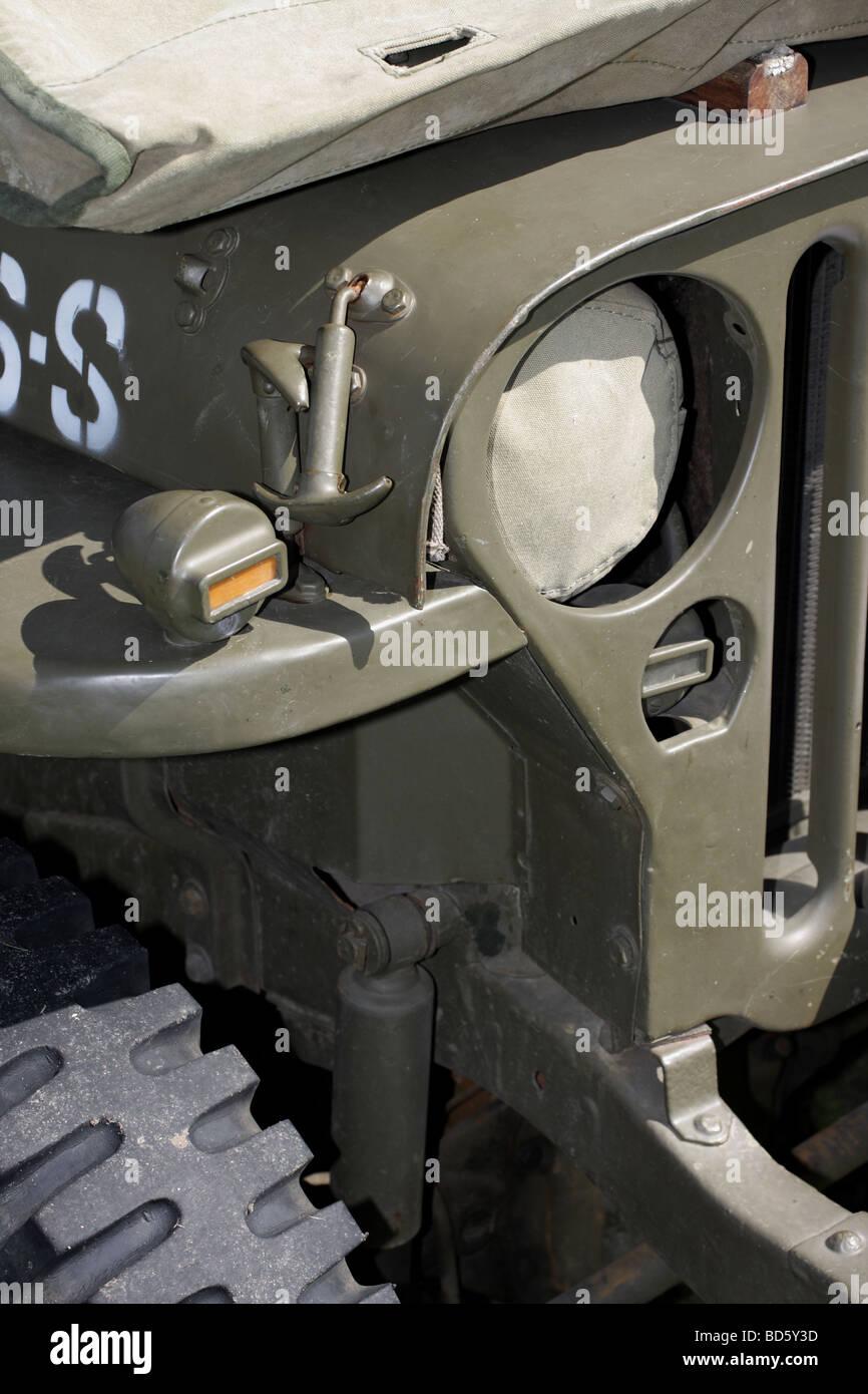 ww2 milit r jeep detail stockfoto bild 25331921 alamy. Black Bedroom Furniture Sets. Home Design Ideas