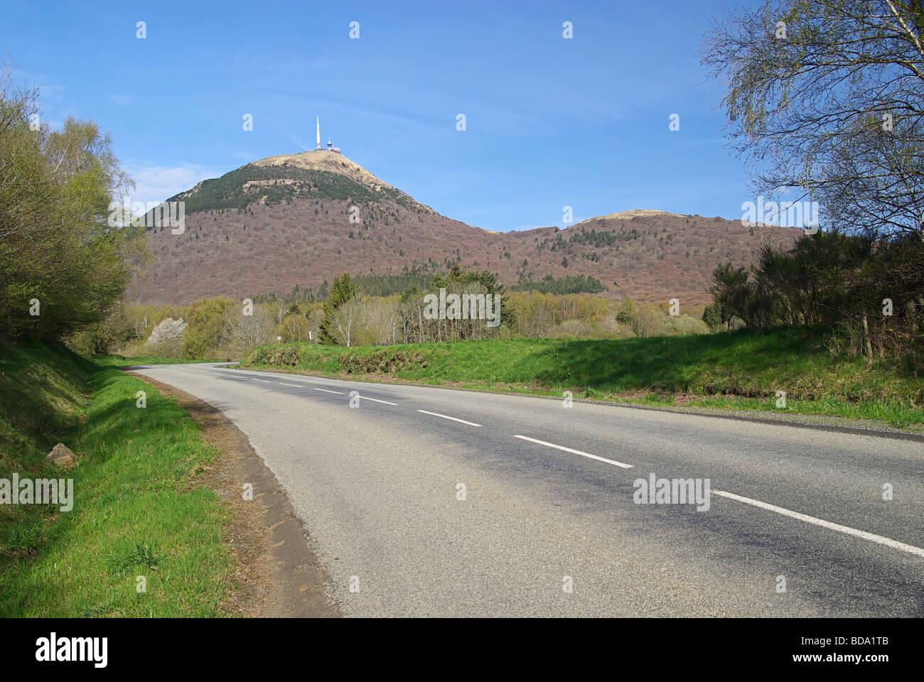 Puy de Dome 05 Stockbild