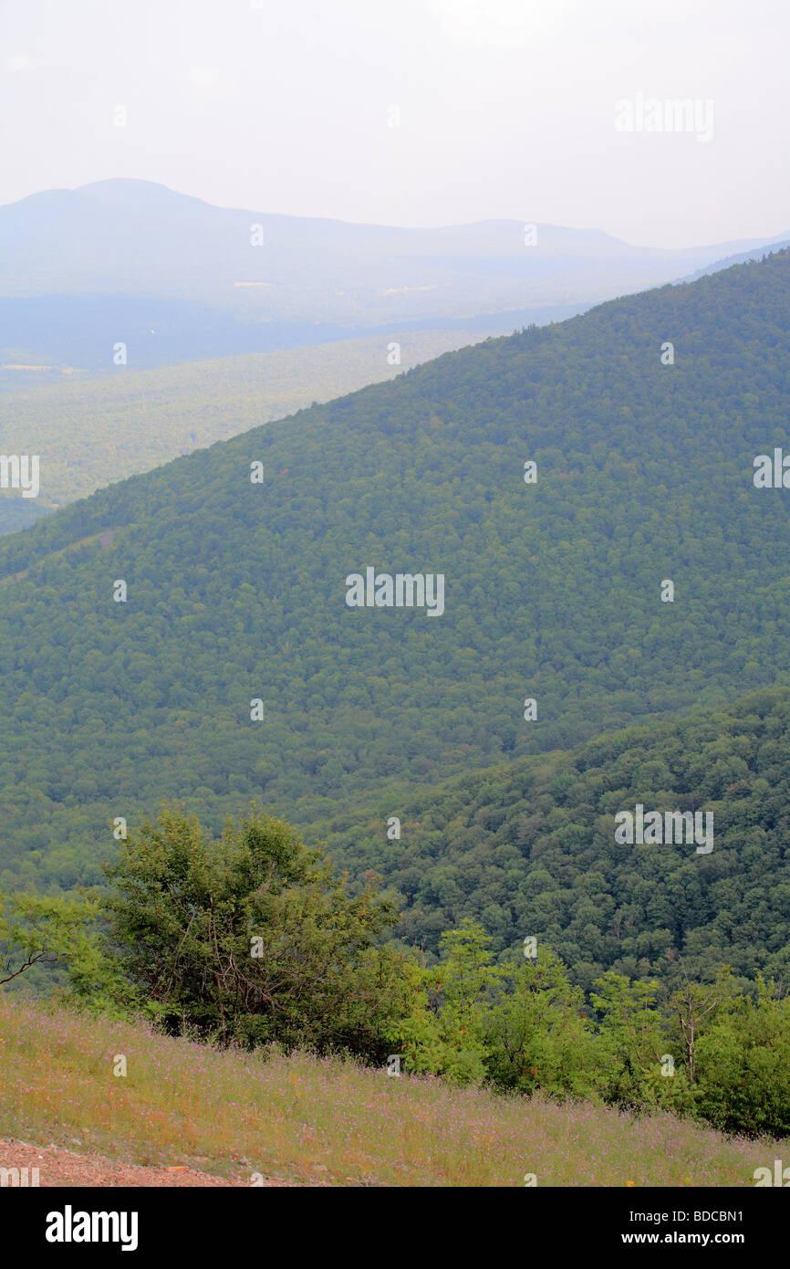 Berge im Bundesstaat New York Stockbild