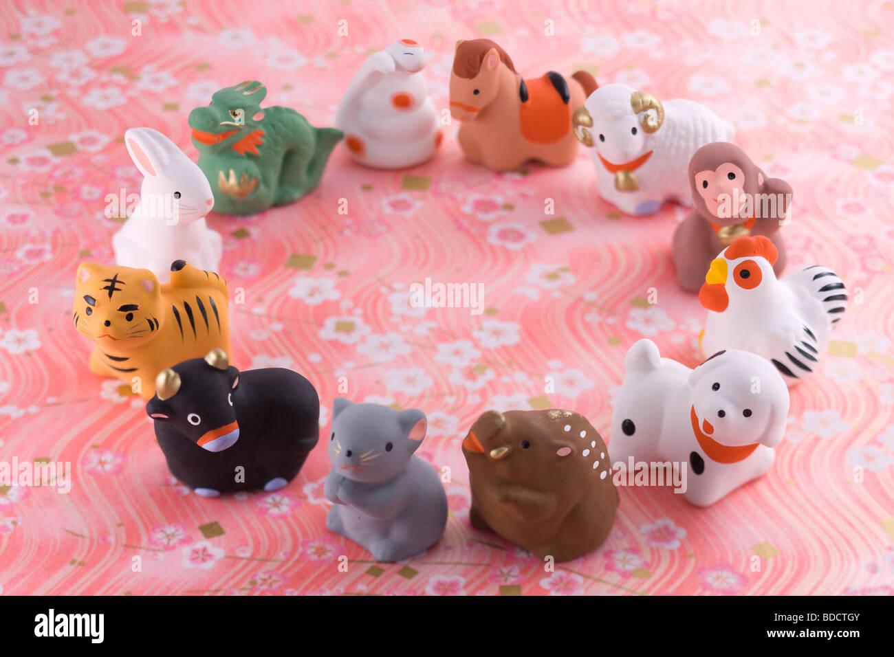 japanische tierkreiszeichen ornament stockfoto bild 25483611 alamy. Black Bedroom Furniture Sets. Home Design Ideas