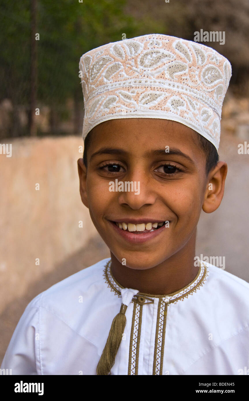 Kind-Sultanat von Oman Stockbild