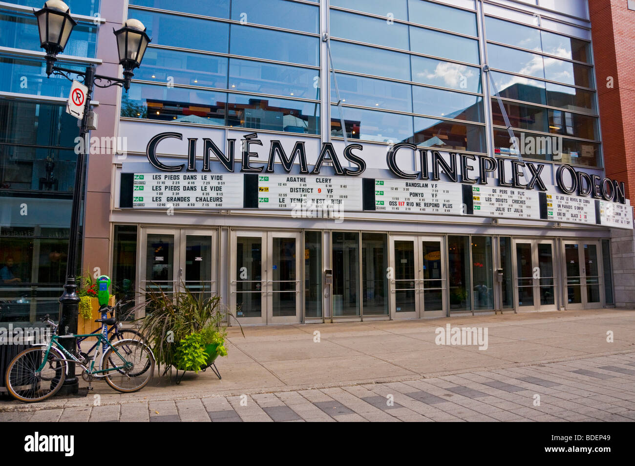 Film Theater quartier Latin Montreal, Quebec, Kanada Stockbild