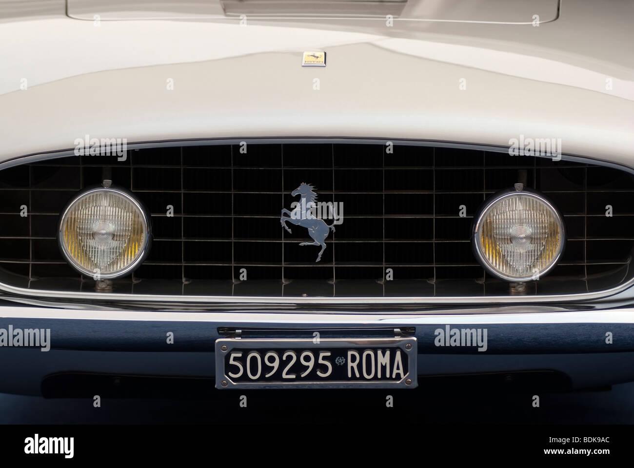 1962 Ferrari 250 GT SWB California Spider auf dem Display in das Gooding & Firma Zelt beim 2009 Pebble Beach Stockbild