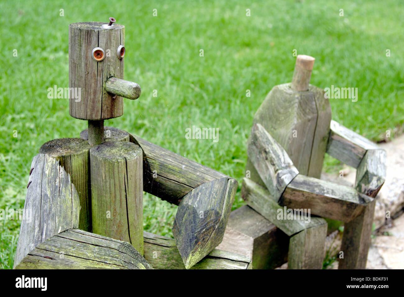 Holzfiguren garten for Holzfiguren garten