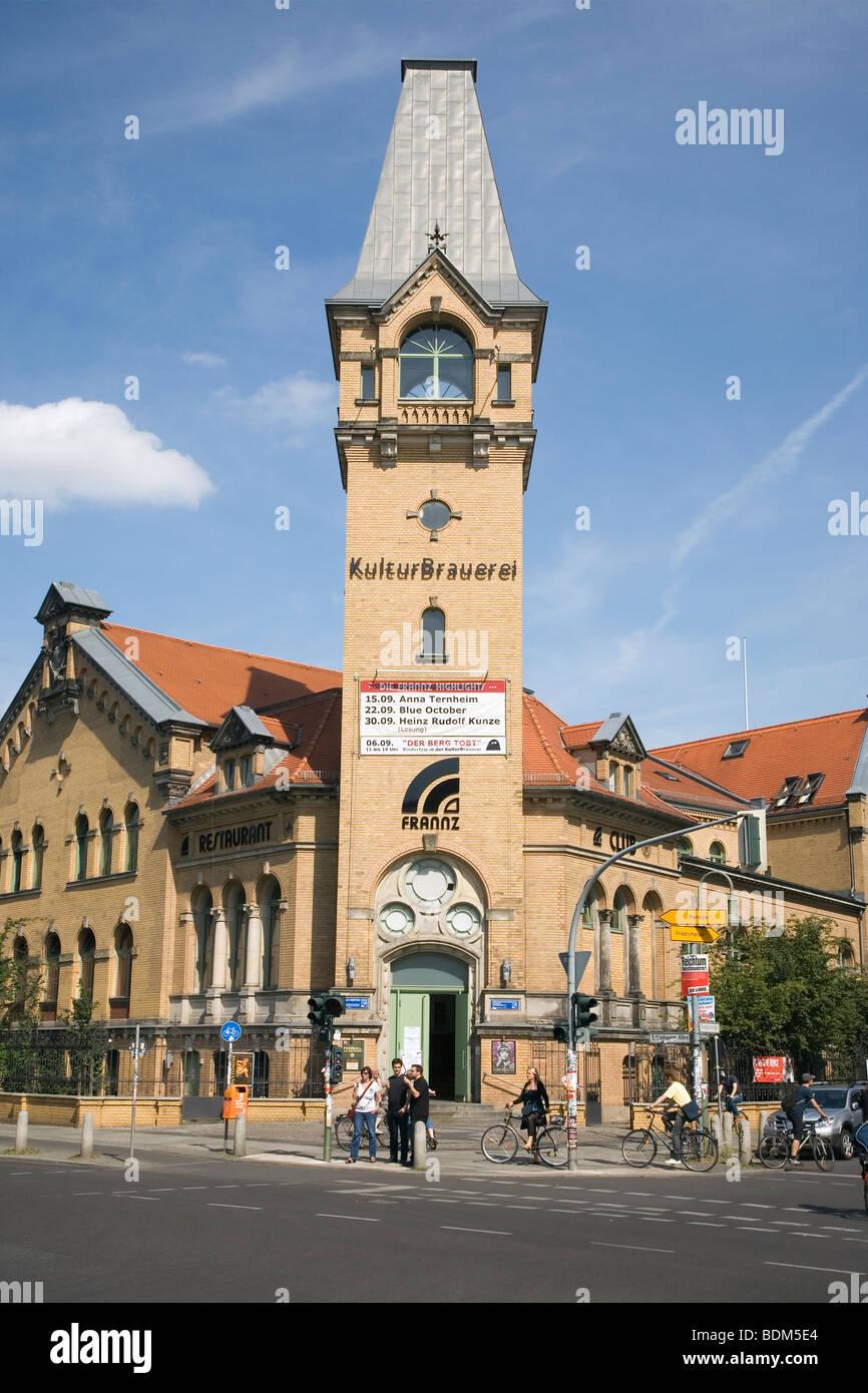 Kultur Brauerei, Prenzlauerberg, Berlin, Deutschland Stockbild