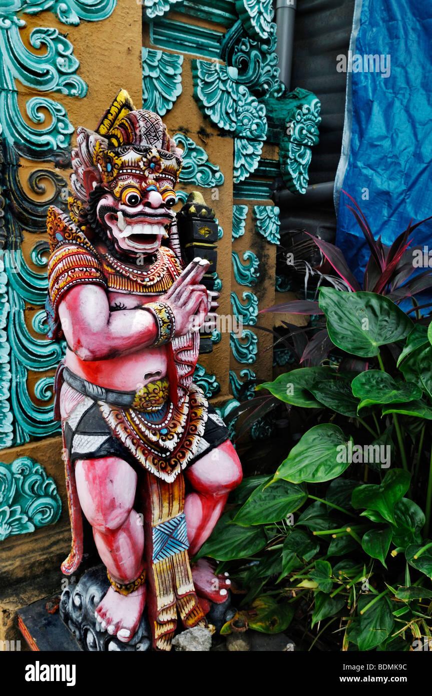 Balinesischen Götter Figur, Sanur, Denpasar, Bali, Indonesien, Südostasien Stockfoto