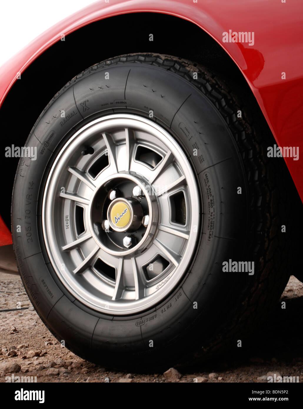 Ferrari Dino GT Stockbild