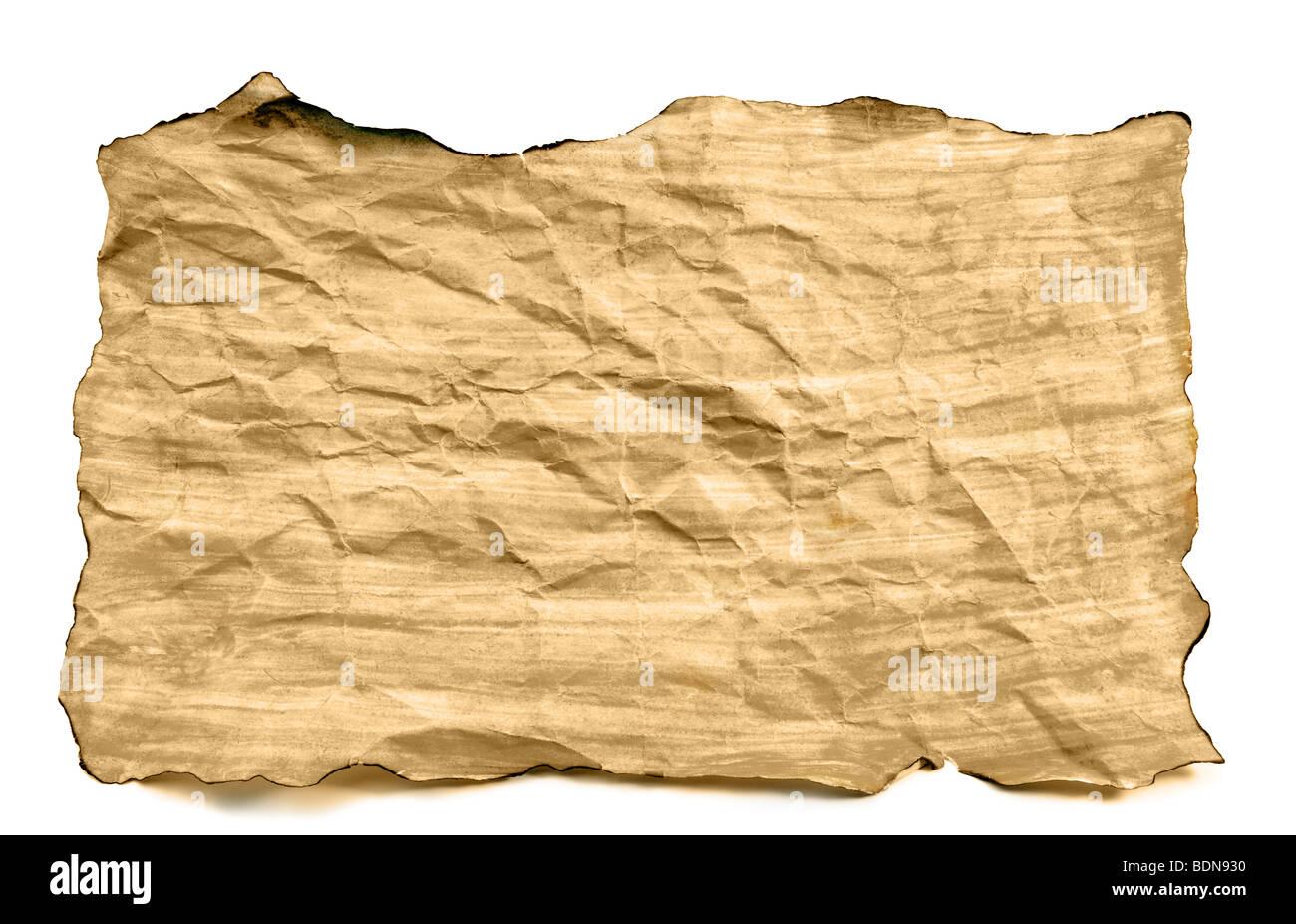 Alte Papier Grunge Hintergrund Stockbild