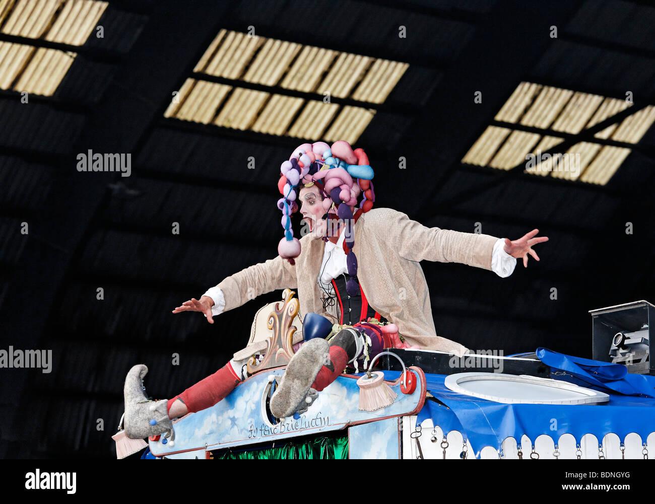 """Theater """"Die Grosse Reise"""" """"die große Reise"""", ExtraSchicht 2009 Festival, Kohlenmischhalle, Stockbild"""