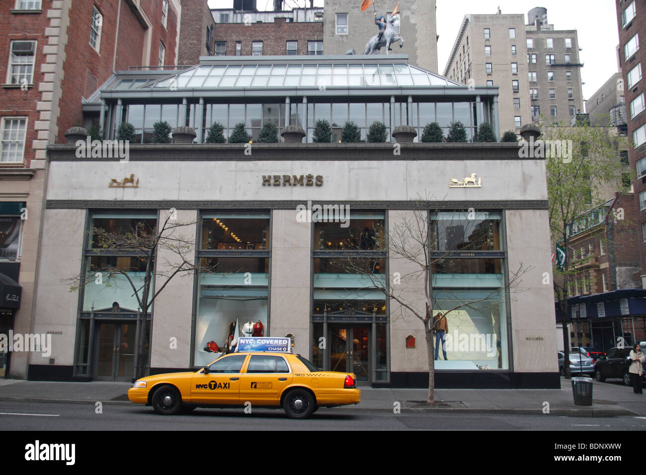 Hermes clothing store
