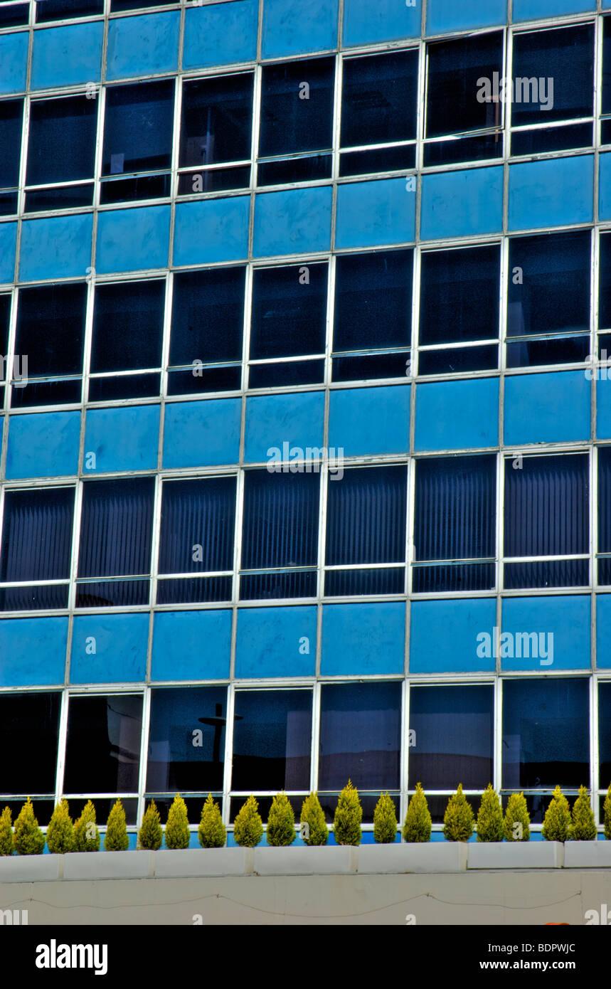 Ein 60er Jahre hohe Reise Bürogebäude in Norwich, England Stockbild