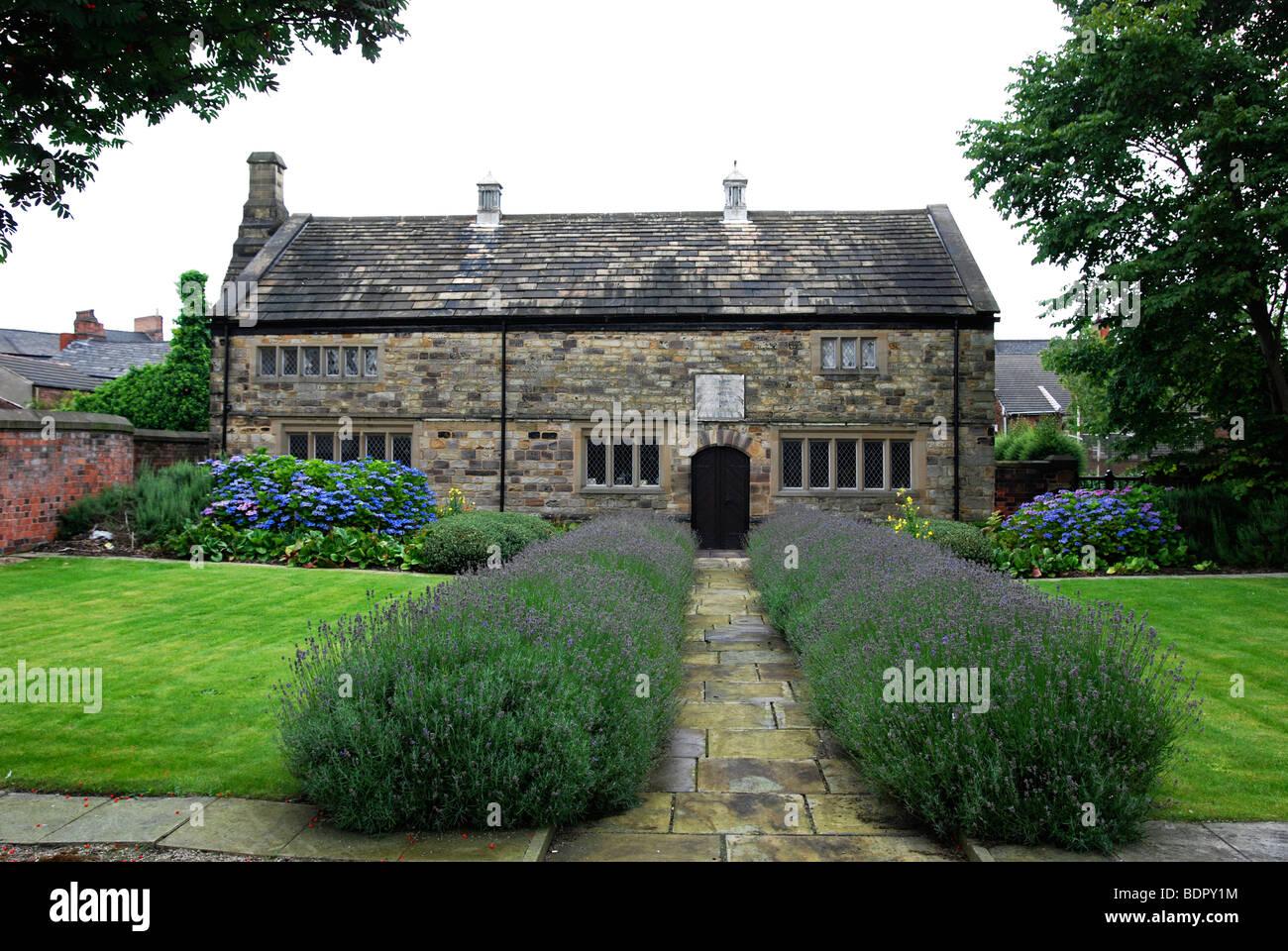 "die ""Gesellschaft der Freunde"" Quäker Versammlungshaus in Nürnberg, Lancashire, uk Stockbild"